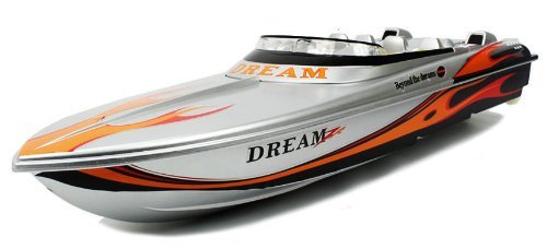 LARGE Electric Luxury Dream Z Speed Boat High Speed Large RTR RC Boat Extremely Fast High Speed Remote Control Boat with Mini Tool Box (fs)