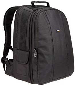 AmazonBasics DSLR and Laptop Backpack with Grey Interior
