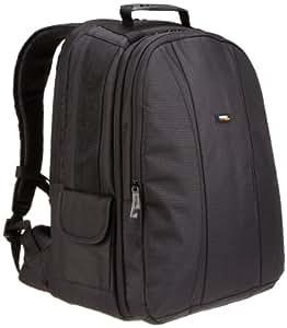 AmazonBasics Sac à dos pour appareil photo reflex numérique et ordinateur portable intérieur gris