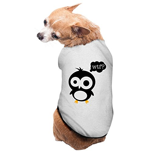 DOGGIE Bird Wtf Dog Sweater Puppy Warm T-shirt