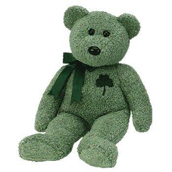 Ty Beanie Buddy Shamrock - Bear (Shamrock Bear compare prices)