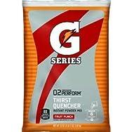 Quaker/Gatorade 33690 Gatorade Powder Sport Drink-51OZ FRUIT PUNCH POWDER