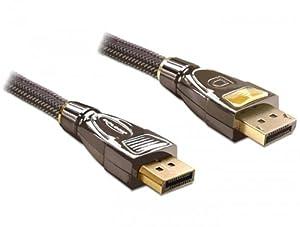 Delock Kabel DisplayPort Stecker/Stecker 1m