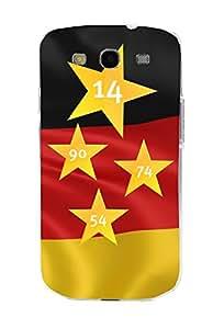 ArktisPRO 1122976 Deutschland Sterne Case für Samsung Galaxy S3