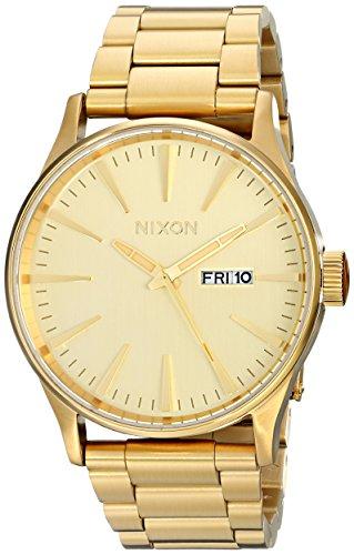 Reloj Nixon The Sentry A356502 Hombre Dorado