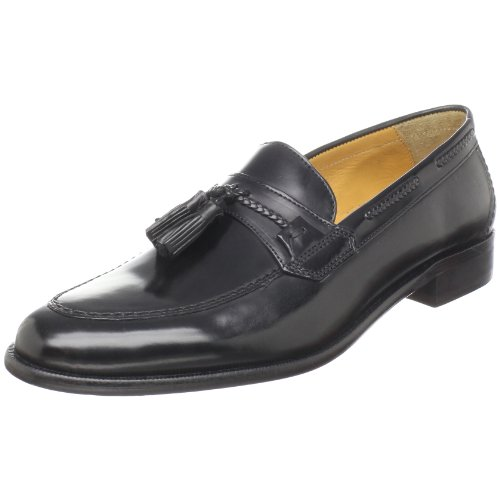 Johnston & Murphy Men's Vauter Tassel Loafer,Black,9 M US