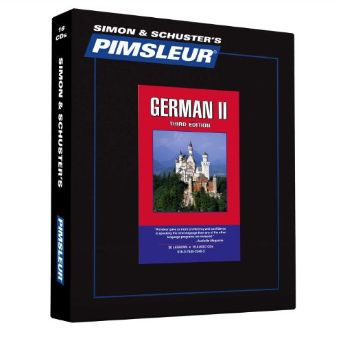 Pimsleur German Level 2 CD: Learn to Speak and Understand German with Pimsleur Language Programs (Comprehensive)