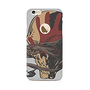 Motivatebox-Apple Iphone 6/6s with hole cover-Blindfolded Polycarbonate 3D Hard case protective back cover. Premium Quality designer Printed 3D Matte finish hard case back cover.