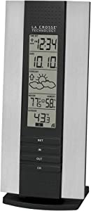 La Crosse Technology WS-7017U-IT Wireless Thermometer with Atomic time, Temperature, Forecast and Humidity