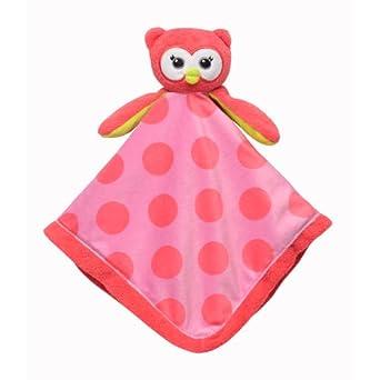 Babystarters Snuggle Buddy Security Blanket, Pink