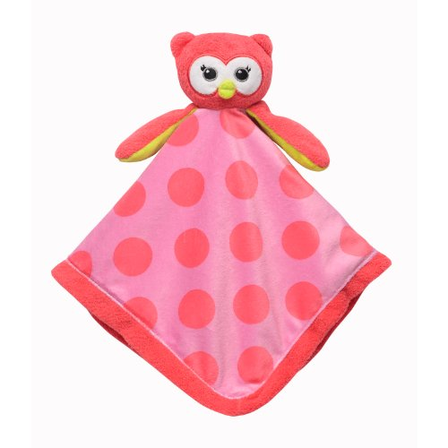Babystarters Snuggle Buddy Security Blanket, Pink