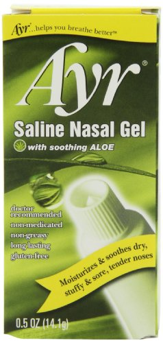 Ayr Saline Nasal Gel, With Soothing Aloe, 0.5