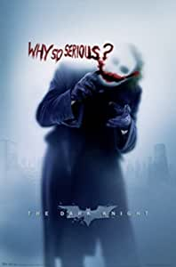 Batman - The Dark Knight, Why So Serious? / Filmplakat, Poster