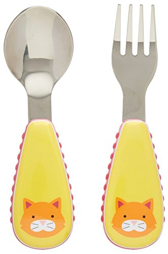 Skip Hop Zoo Utensil Set, Chase Cat