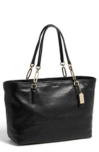 Coach Madison Leather East/West Tote from Coach