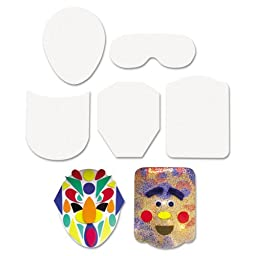 Creativity Street - Peel & Stick Faces Decoration Boards, 5\