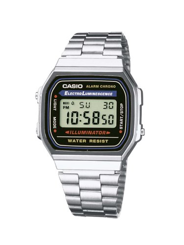 Casio A168Wa-1YES Mens Digital Bracelet Watch