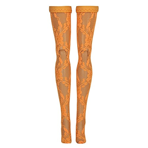 Monster High Doll Stockings - Orange Lace - Doll Clothes (Monster High Daughters)
