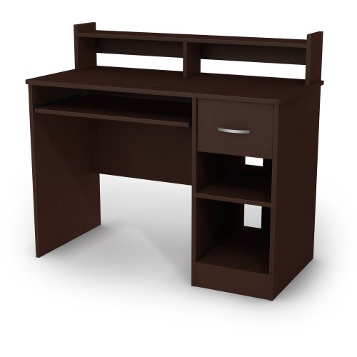South Shore Axess Collection Desk, Chocolate (Espresso Desk Small compare prices)