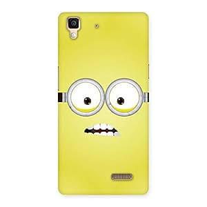 Premium Yellows Fun Back Case Cover for Oppo R7