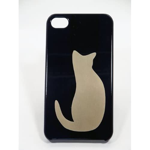 Amazon.com: Maki-e iPhone 4/4S Cover Case Made in Japan - Neko (Cat): Cell Phones & Accessories from amazon.com