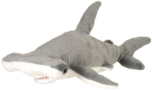 Wild Republic AQ Shark - Hammerhead - Adult Plush