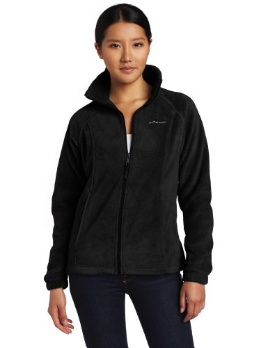 Columbia Women's Benton Springs Full Zip Jacket, Black, Medium Picture
