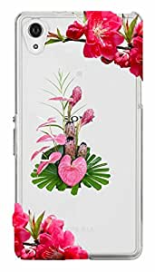 WOW Transparent Printed Back Cover Case For Sony Xperia Z3