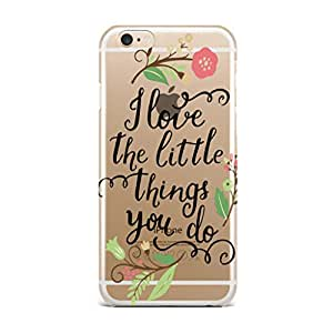 QRIOH iPhone 6 Plus case - Scratchproof Printed Case Things You Do Transparent Case for iPhone 6 Plus Back Cover Case - Premium Quality
