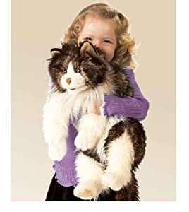 Folkmanis Puppet Ragdoll Cat from Folkmanis