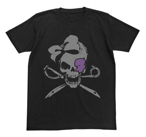 キルラキル 針目縫 スカル Tシャツ ブラック サイズ:L