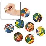 Swirl Bouncing Balls (12 Dozen) - Bulk [Toy]