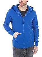 ZIPUPS Sudadera con Cierre Hoody All Color (Azul Royal)