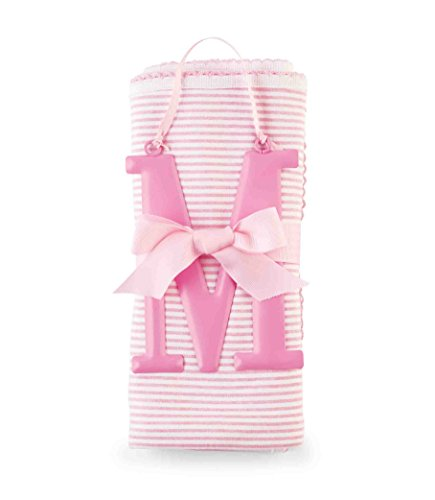 Mud Pie Cotton Receiving Blanket, M/Pink