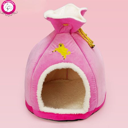 BOSUNTM-Personalized-Unique-Money-Bag-Pet-Dog-House-Foam-PP-Cotton-Puppy-Kennel-Funny-Chihuahua-Teddy-Small-Dog-Cave-Beds