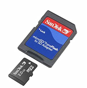 Sandisk 512MB TransFlash//Micro SD Card