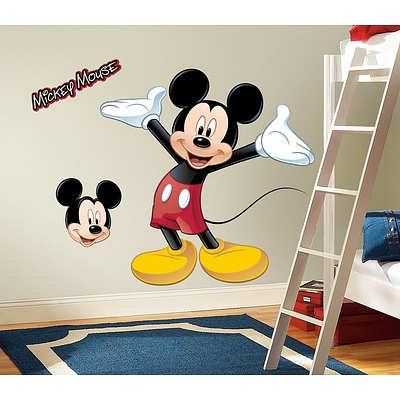 (27X40) Mickey & Friends - Mickey Mouse Peel & Stick Giant Wall Decal front-12247