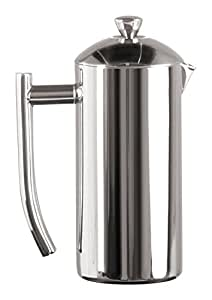 Frieling Polished 18/10 Stainless Steel French Press in Frustration Free Packaging, 17 Ounce