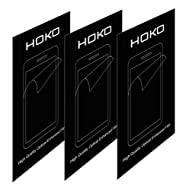 3X HOKO Screen Protector Scratch Guard For LG Google Nexus 4 E960 (Pack Of 3)