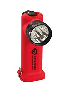 Streamlight 90502 Survivor LED Flashlight Fast Charger with AC Cord, Orange by Streamlight