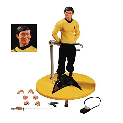 Mezco Star Trek Sulu 1:12 Collective Action Figure by Mezco