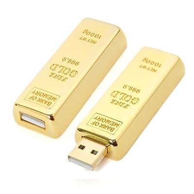Goldbarren USB Stick