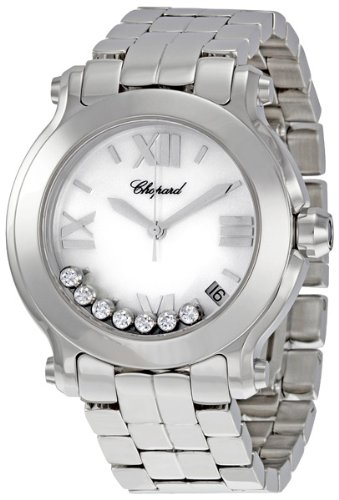 Chopard Women's 278477-3002 Happy Sport Mother-Of-Pearl Dial Watch