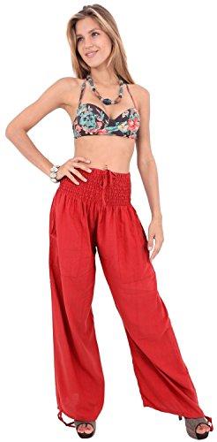 yoga-rayon-plain-drawstring-lounge-pajama-beachwear-women-joggers-pant-orange
