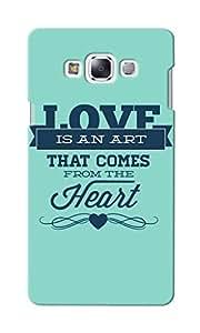 KnapCase Love Art Designer 3D Printed Case Cover For Samsung Galaxy E5
