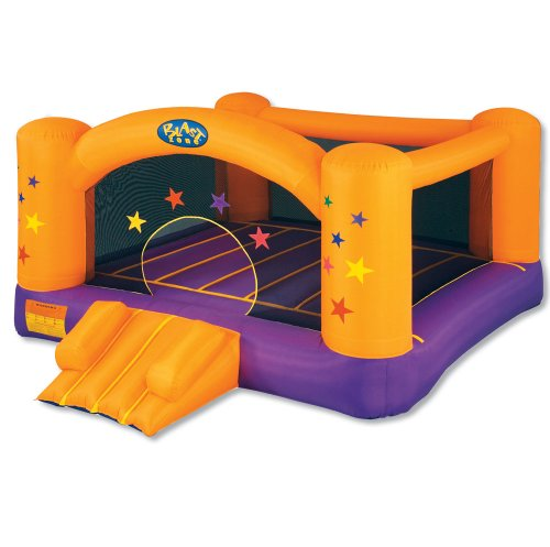 Blast Zone Superstar Inflatable Party Moonwalk By Blast
