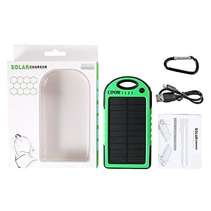 Upow-5000mAh-Solar-Power-Bank