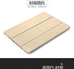 TOTU Design Smart Air Series Leather Case for Ipad Pro (9.7 Inch) - Gold