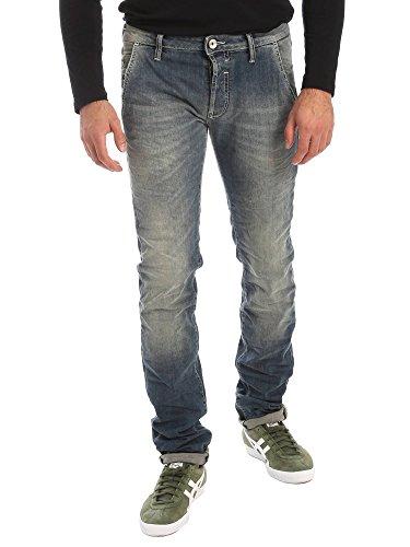 Gas 351312 Jeans Uomo Blu 34