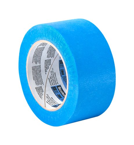 "Tapecase 2090 1.25"" X 60Yd Long-Mask Masking Tape Converted From 3M 2090, 1.25"" X 60 Yd Roll"